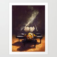 Ballad of Ludwig von Koopa - Super Mario World Series / Gaming & Video Games Art Print