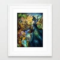 Hello Beastie Framed Art Print