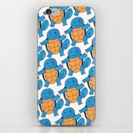 1 Squirtle, 2 Squirtle,… iPhone & iPod Skin