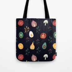 Vegetables pattern Tote Bag