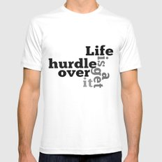 Hurdle Mens Fitted Tee SMALL White