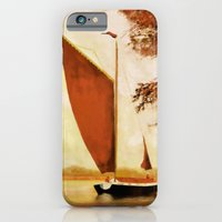 iPhone & iPod Case featuring The Wherry Albion by Valerie Anne Kelly