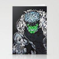 Hulkbuster Sabertooth Stationery Cards