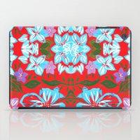 Tropical Floral Print iPad Case