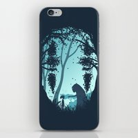 Lonely Spirit iPhone & iPod Skin