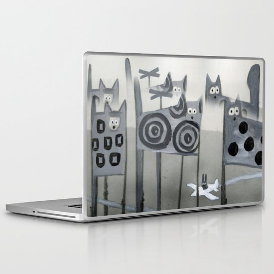 bunny's dream Laptop & iPad Skin