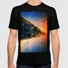 CD (35mm multi exposure) Black SMALL Mens Fitted Tee