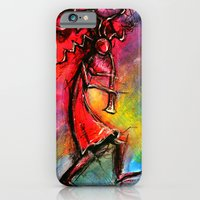 iPhone & iPod Case featuring KooKooPelli by BPARSH