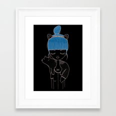 I want to be a little dog. Framed Art Print
