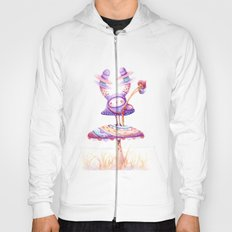 In The Land Of Magic Mushrooms Hoody