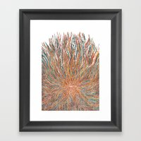 The takeover Framed Art Print