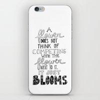 Flower Blooms iPhone & iPod Skin