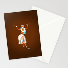 Hula Girl Stationery Cards