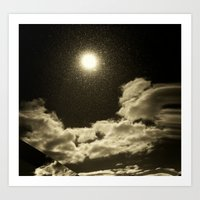 Signs in the Sky Collection - I Art Print