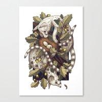 Spades Canvas Print