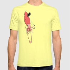 Gentlesquid SMALL Lemon Mens Fitted Tee