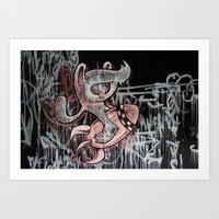 IT´S ALWAYS DOOMSDAY Art Print