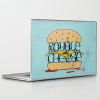 pulp fiction Laptop & iPad Skins featuring Pulp Fiction by Drew Wallace