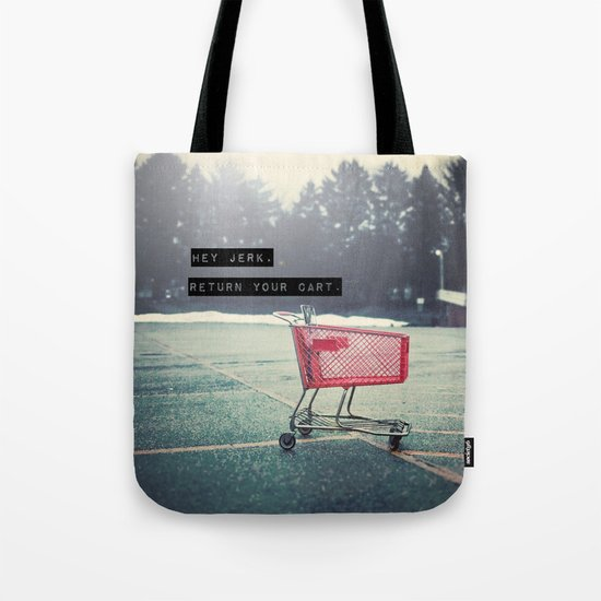 Grocery Cart Rage  Tote Bag