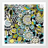 Anya Art Print