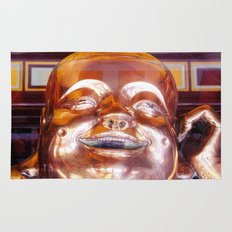 Shiny, Happy Buddha  Rug
