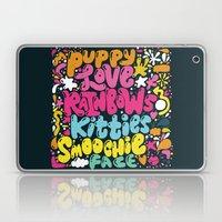 PUPPY LOVE, RAINBOWS, KI… Laptop & iPad Skin