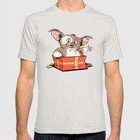 Gizmo Gift Mens Fitted Tee Silver SMALL