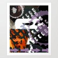 Obstruction  Art Print