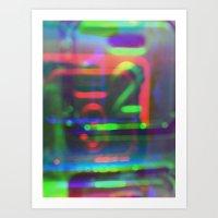 Multiplicitous Extrapola… Art Print