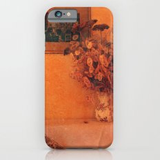 Still life with dry flowers iPhone 6 Slim Case