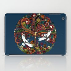 tree of life blue iPad Case
