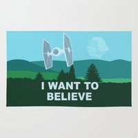 I WANT TO BELIEVE - Star… Rug