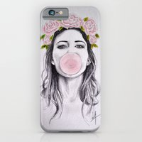 iPhone & iPod Case featuring Bubble by Libby Watkins Illustration