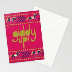Giddy Up Stationery Cards
