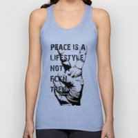Peace Out!  Unisex Tank Top