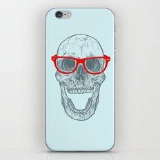 Smart-Happy Skully iPhone & iPod Skin