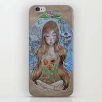 Girl Without Hands iPhone & iPod Skin