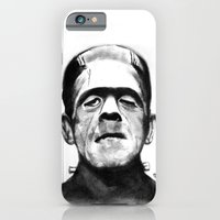 iPhone & iPod Case featuring Frankenstein by Zombie Rust
