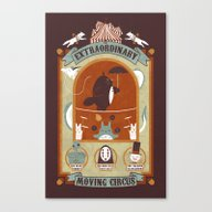 The Moving Circus Canvas Print