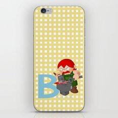 b for blacksmith iPhone & iPod Skin
