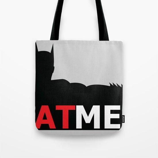 Bat Men Tote Bag