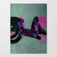 Disquiet Three Canvas Print