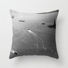 At Liberty Throw Pillow
