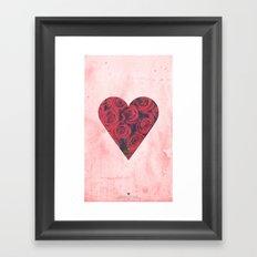 Upendo Framed Art Print