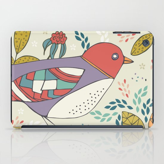 Bird and Butterfly  iPad Case