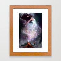 The Side Effect Framed Art Print