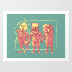 Experimental Idea Art Print
