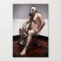 Toxic Youth Canvas Print
