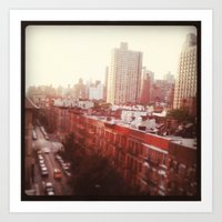 The Upper East Side (An … Art Print