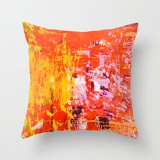 SCRAPE 4 Throw Pillow